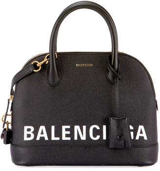 Balenciaga Ville Leather Top Handle Bag