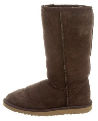 UGG Australia Classic Tall Suede Boots $90 thestylecure.com