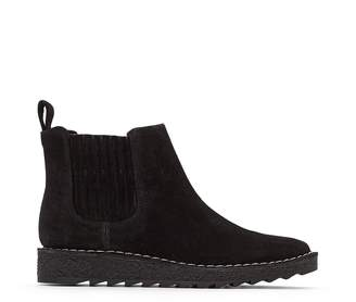 Clarks Olso Chelsea Suede Leather Ankle Boots