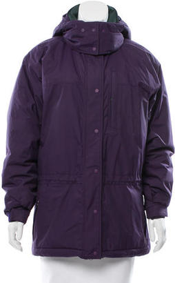 Patagonia Hooded Down Coat $130 thestylecure.com