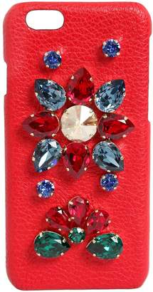 Dolce & Gabbana Crystals Embellished Iphone 6 Case