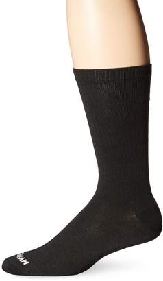 Wigwam Men's Absolute and White Casual Crew Socks
