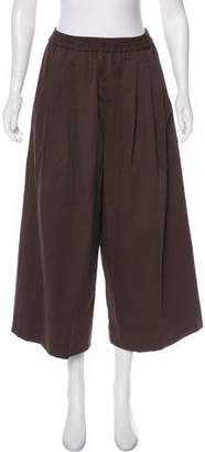 Tome High-Rise Pleated Culottes