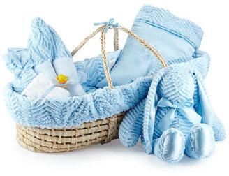 Swankie Blankie Ziggy Plush Gift Basket, Blue $495 thestylecure.com