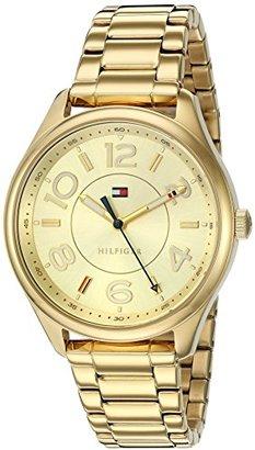 Tommy Hilfiger (トミー ヒルフィガー) - Tommy HilfigerレディースQuartzステンレススチールCasual Watch , Color :ゴールド(モデル: 1781673 )