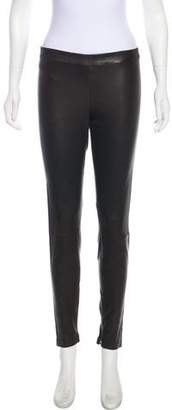 Vince Leather Skinny Pants