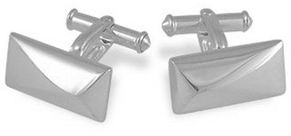 Forzieri Sterling Silver Rectangular Cuff Links