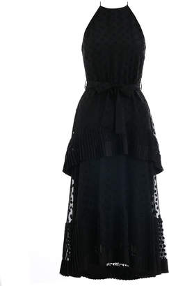 Zimmermann Pleated Tier Picnic Dress