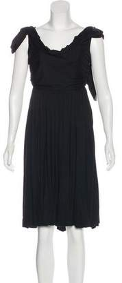 Bottega Veneta Sleeveless Knee-Length Dress
