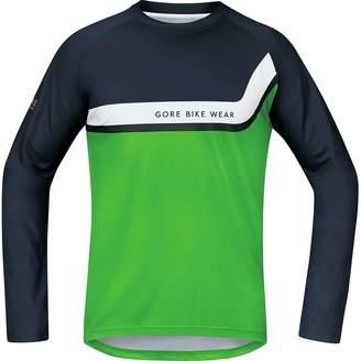 Gore Bike Wear Power Trail Long-Sleeve Jersey - Men's