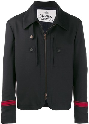 Vivienne Westwood zipped shirt jacket