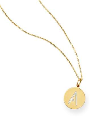 Sarah Chloe Mark And Graham Single Initial Disc Necklace