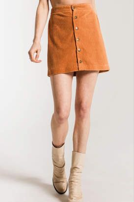Z Supply Knit Corduroy Skirt