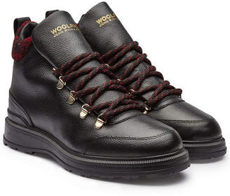Woolrich Hiker Leather Ankle Boots