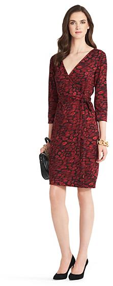 Diane von Furstenberg New Julian Two Silk Jersey Wrap Dress