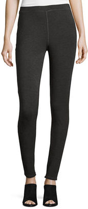 Eileen Fisher Cozy Stretch-Jersey Leggings $198 thestylecure.com