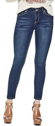 Factory Guess Women's Melanie Mid-Rise Skinny Jeans
