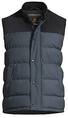Barbour Men's Regular-Fit Tartan Wisbech Gilet Vest