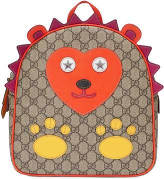 Gucci Children's GG hedgehog backpack