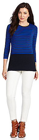 Vince Camuto Tropic Stripe Top