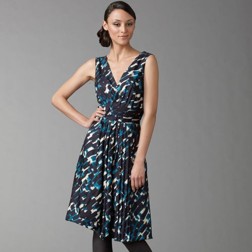 Thakoon Graffiti Gathered Dress
