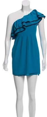 Yumi Kim Ruffled Silk Dress