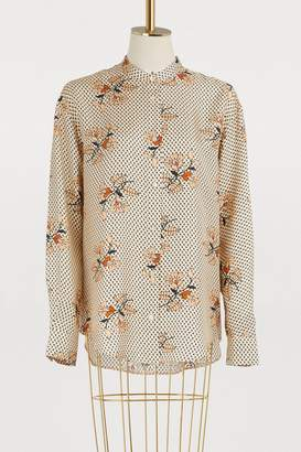 Forte Forte Swahili shirt with floral print