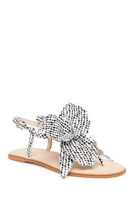 Cecelia New York Peony Floral T-Strap Sandal