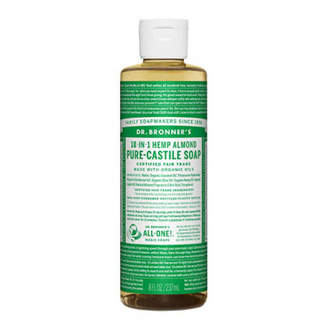 Dr. Bronner's Dr. Bronner Castile Liquid Soap - Almond 237ml