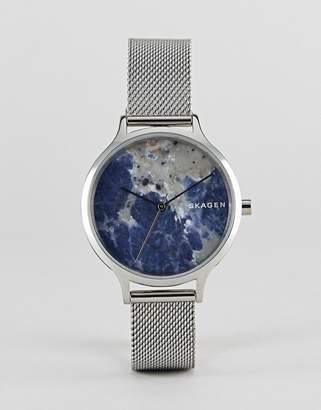Skagen SKW2718 Anita mesh watch in silver