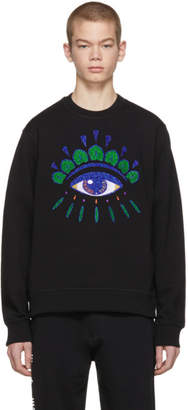 Kenzo Black Limited Edition Eye Sweatshirt