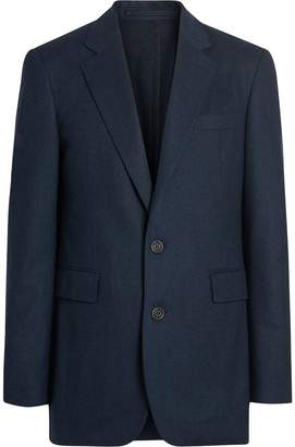 Burberry Classic Fit Wool Cashmere Tailored Jacket
