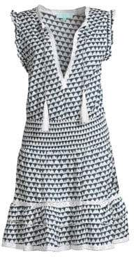 Melissa Odabash Skylar Tassel Cotton Dress