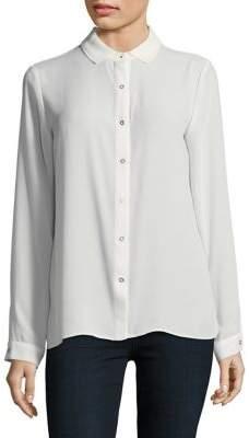 T Tahari Yvett Button-Down Shirt
