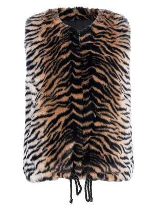 French Connenction Shirlee Fur vest