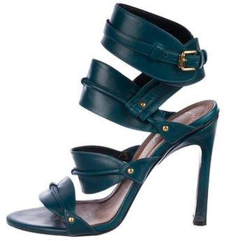 Maiyet Leather Slingback Sandals