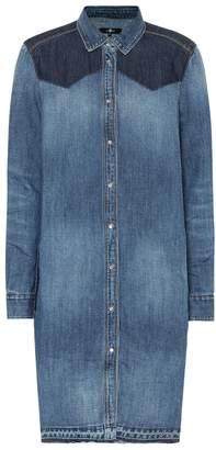 7 For All Mankind Rider denim shirt dress