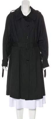 Ann Demeulemeester Long Trench Coat