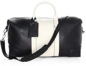 Uri Minkoff Two-Tone Leather Weekender Bag