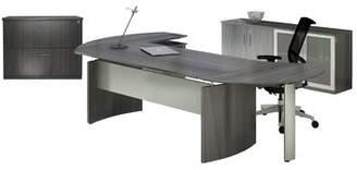 Symple Stuff Troche Desk, Chair and Storage Cabinet Set Symple Stuff