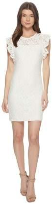 BB Dakota Monae Stretch Floral Lace Dress Women's Dress