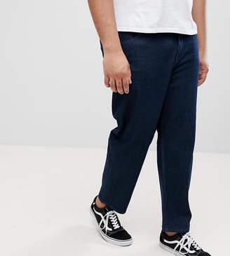 Asos PLUS Skater Jeans In Indigo