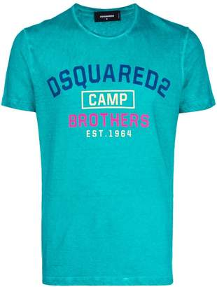 DSQUARED2 Camp print T-shirt