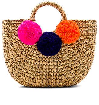 JADEtribe Basket Small 3 Pom