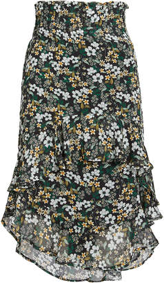 Munthe Deck Floral Chiffon Skirt
