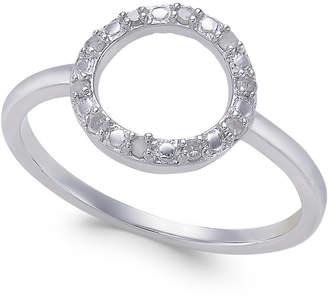 Macy's Diamond Circle Ring (1/10 ct. t.w.)