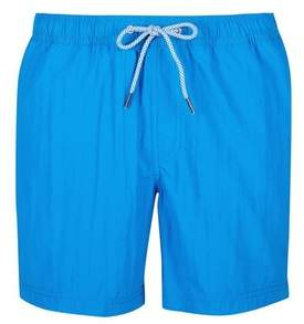Mens Cobalt Regular Pull On Swim Shorts