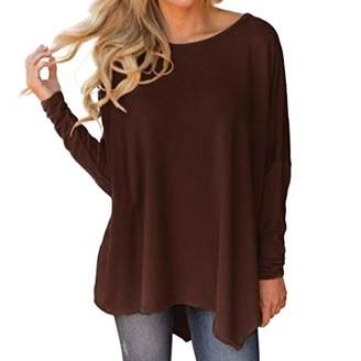 4711f4d80d019 Realdo Clearance Sale, Women Autumn Winter Fashion Ladies Long Sleeve  O-Neck Pure Color