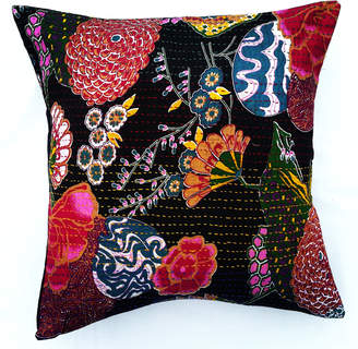 Butterfly Dreams Luxury Bed Linens Hand-Embroidered Pillow Covers