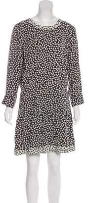 Current/Elliott Printed Cutout Dress